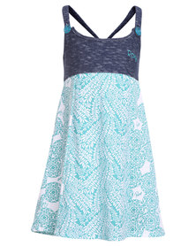 Roxy Salty Patches Dress Multi