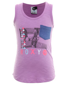 Roxy Honey Boo Top Purple