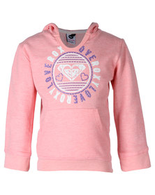 Roxy Love Stamp Top Pink