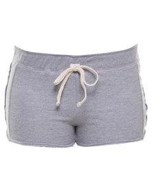 Roxy Cloud Burst Shorts Grey