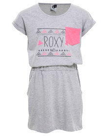 Roxy Summer Days Dress Grey