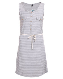 Roxy Stepping Stones Dress Grey