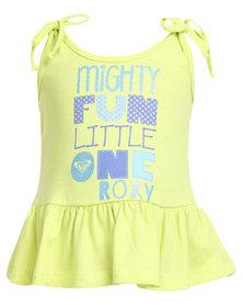 Roxy Fun Little One Vest Yellow