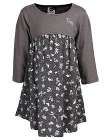 Roxy Toddlers Pretty Flower Dress