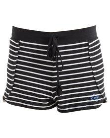 Roxy Girls Sweety Cheeky Shorts Black/White