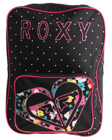Roxy Mess Around Backpack Black