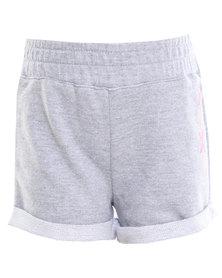 Roxy Sweet Pea Shorts Grey