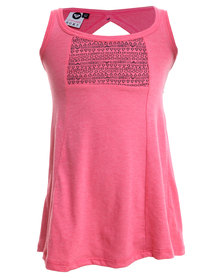 Roxy Surf Brink Dress Pink