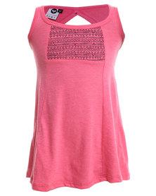 Roxy Surf Brink Dress Pink