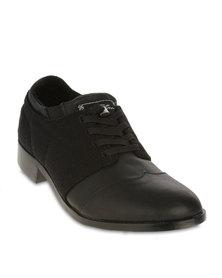 Royal Elastics Andersen Brogue Shoes Black