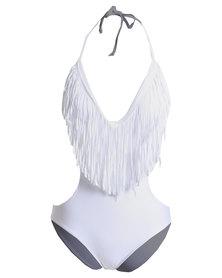 Royal T Tassell Monokini White