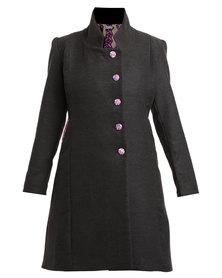 Rubicon Winter Coat Charcoal