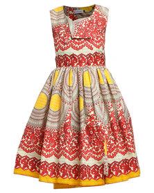 Rubicon Maxi Dress Multi
