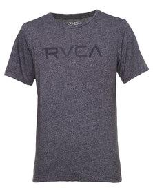 RVCA Mock Twist Tee Charcoal