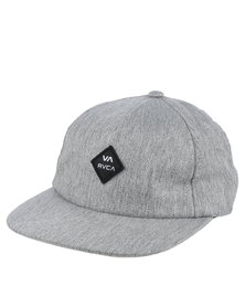 RVCA Sile Five Panel Cap Grey
