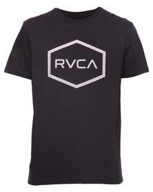 RVCA Hexed Tee Black