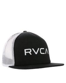 RVCA Trucker II Cap Black