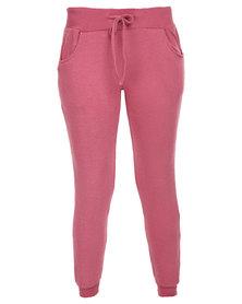 RVCA Always Rite Pants Pink