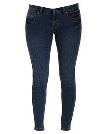 RVCA Lately Jeans Blue