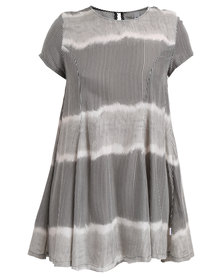 RVCA Tripper Dress Grey