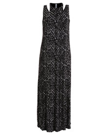 RVCA Rite Moves Dress Black