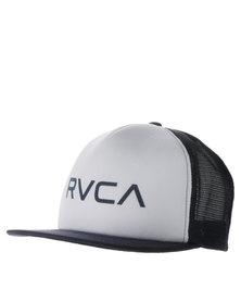 RVCA Trucker White/Navy