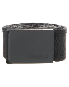 RVCA Roll Call Scout Belt Black