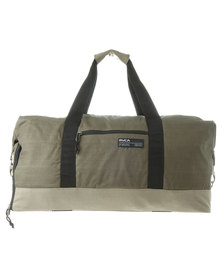 RVCA Caravan Weekender Duffel Bag Natural