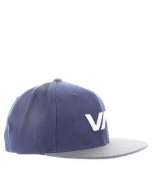 RVCA VA Snap Back Cap Navy