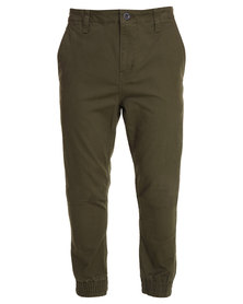 RVCA House Arrest Pants Green