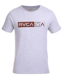 RVCA Rec Heavy Tee Grey
