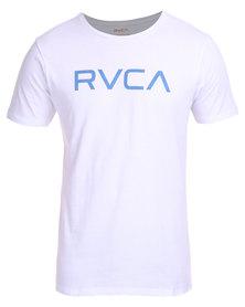 RVCA Big RVCA Standard Tee White