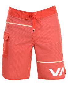 RVCA Makua Trunk Red