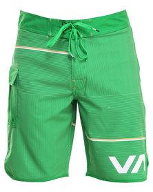 RVCA Makua Trunk Green