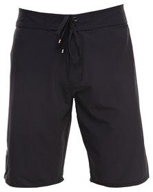 RVCA Register Trunk Shorts Black