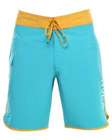 RVCA Eastern 20 Trunk Shorts Blue