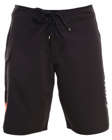 RVCA Western II Trunk Shorts Black