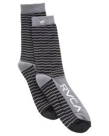 RVCA Makeshift Socks Black
