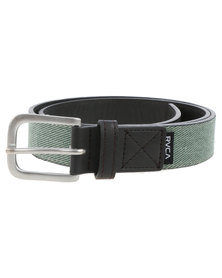 RVCA Resevoire Belt Grey