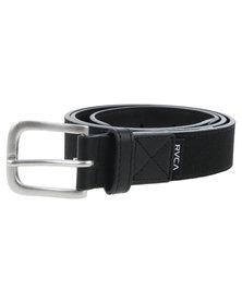 RVCA Resevoire Belt Black