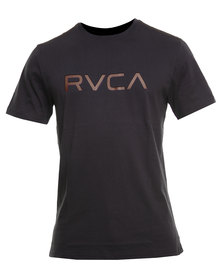 RVCA Big RVCA Std Tee Black