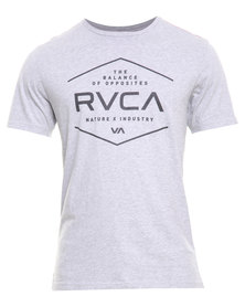 RVCA Pure Tee Grey