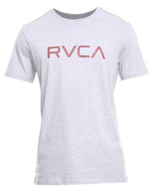 RVCA Big RVCA Std Tee Grey