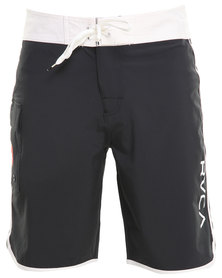 RVCA Eastern 20 Trunks Black