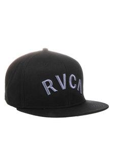 RVCA Blocks Snapback Cap Black
