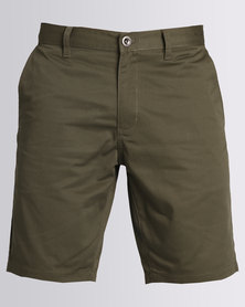 RVCA The Week-End Short Olive