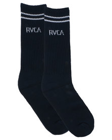 RVCA Union Sock III Midnight
