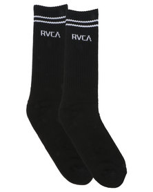 RVCA Union Sock III Black