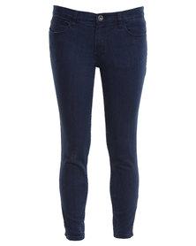 RVCA Vortex Skinny Jeans Blue