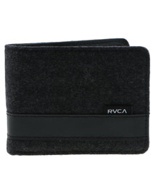 RVCA Selector Collections Wallet Charcoal